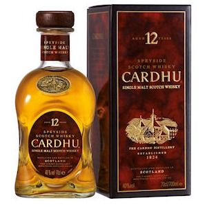 Cardhu Whisky 12 Years Old