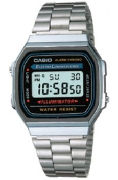 Casio Collection A168WA-1UWD