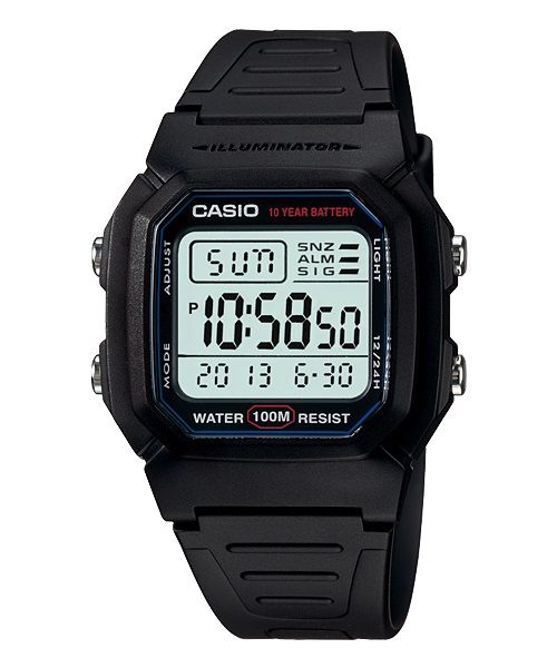 Casio Collection W-800H-1AVDF