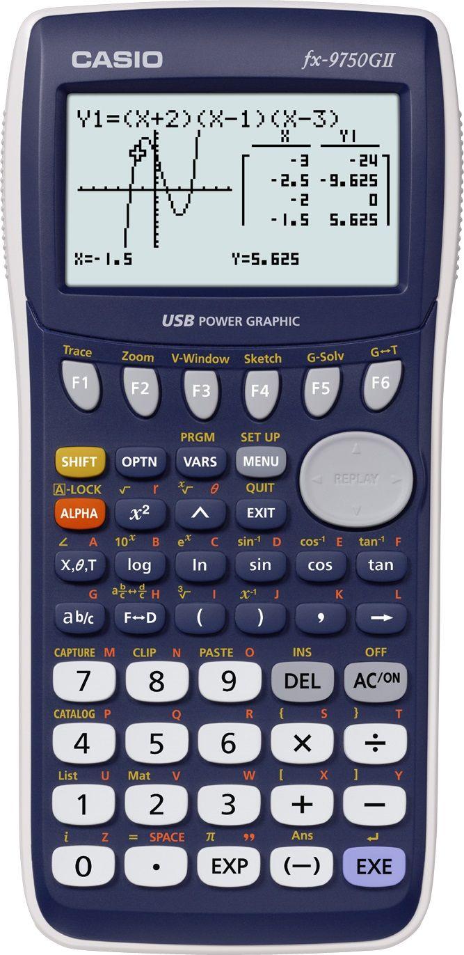 Casio fx 9750g ii