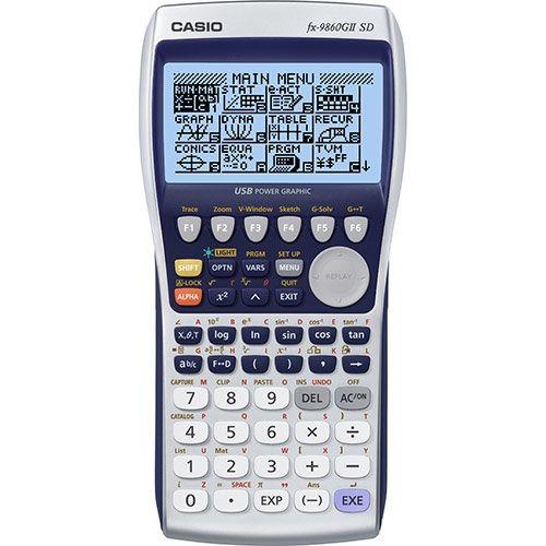 Casio fx 9860g ii sd