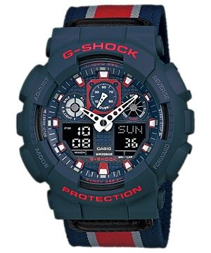 Casio g shock ga 100mc 2a
