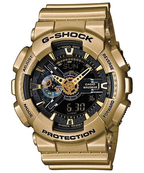 Casio g shock ga 110gd 9bdr