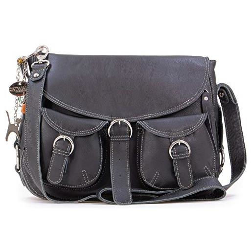 Catwalk Collection Handbags Courier Tracolla