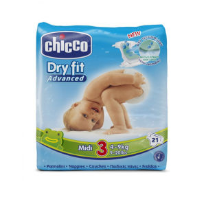 Chicco Pannolini Dry Fit 3