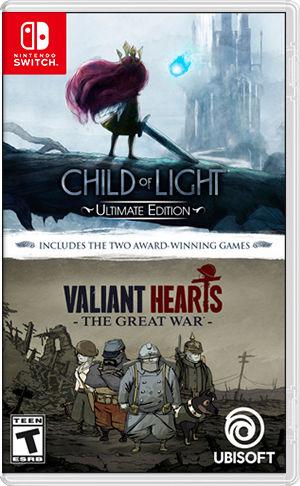 Ubisoft Child of Light + Valiant Hearts: The Great War