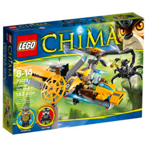 Lego Chima 70129 L'aereo bi-elica di Lavertus