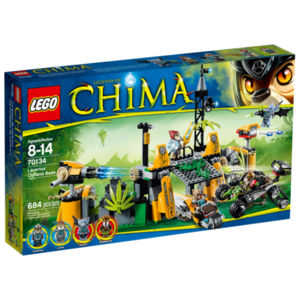 Lego Chima 70134 Roccaforte di Lavertus