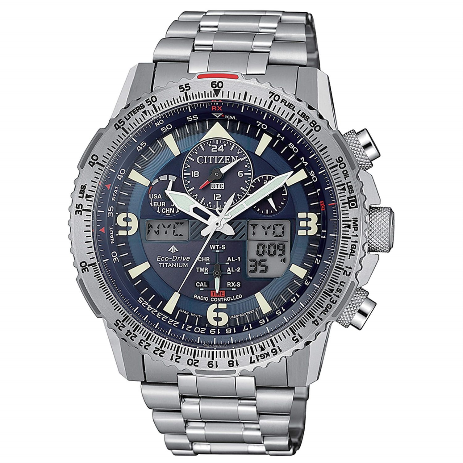 Citizen Skyhawk Supertitanio JY8100-80L