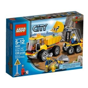 Lego City 4201 Ruspa e autoribaltabile