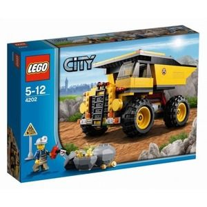Lego City 4202 Autoribaltabile da miniera