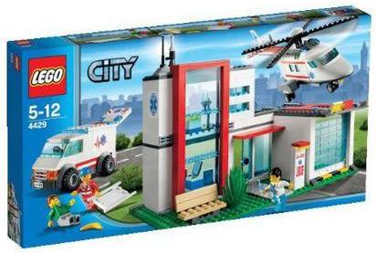 Lego City 4429 Elicottero di salvataggio