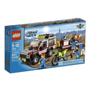 Lego City 4433 Transporter di moto da cross