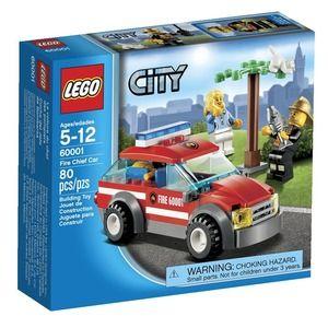 City 60001 auto del comandante dei pompieri