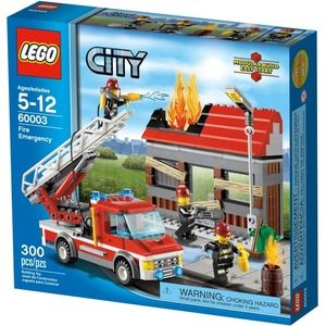 Lego City 60003 Squadra di emergenza anti-incendio