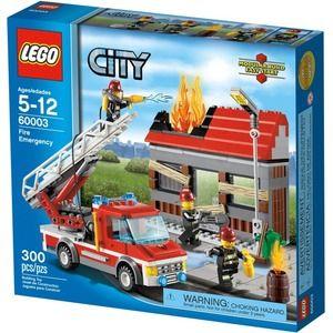 Lego City 60003 Squadra di emergenza anti-incendio