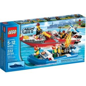 Lego City 60005 Motoscafo anti-incendio