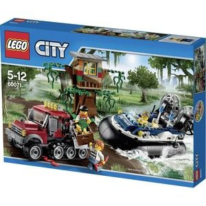 Lego City 60071 Arresto con L'hovercraft