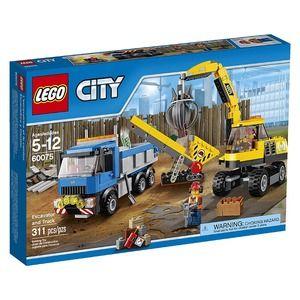 City 60075 scavatore e camion
