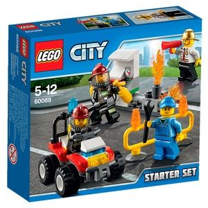 Lego City 60088 Starter Set Pompieri