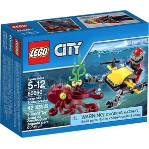 Lego City 60090 Scooter per Immersioni Subacquee