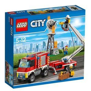 City 60111 camion dei vigile del fuoco