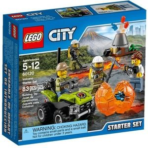 Lego City 60120 Starter Set Vulcano