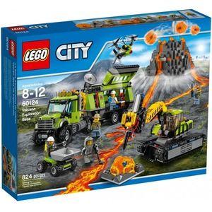 City 60124 base delle esplorazioni vulcanica