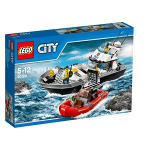 City 60129 motoscafo della polizia