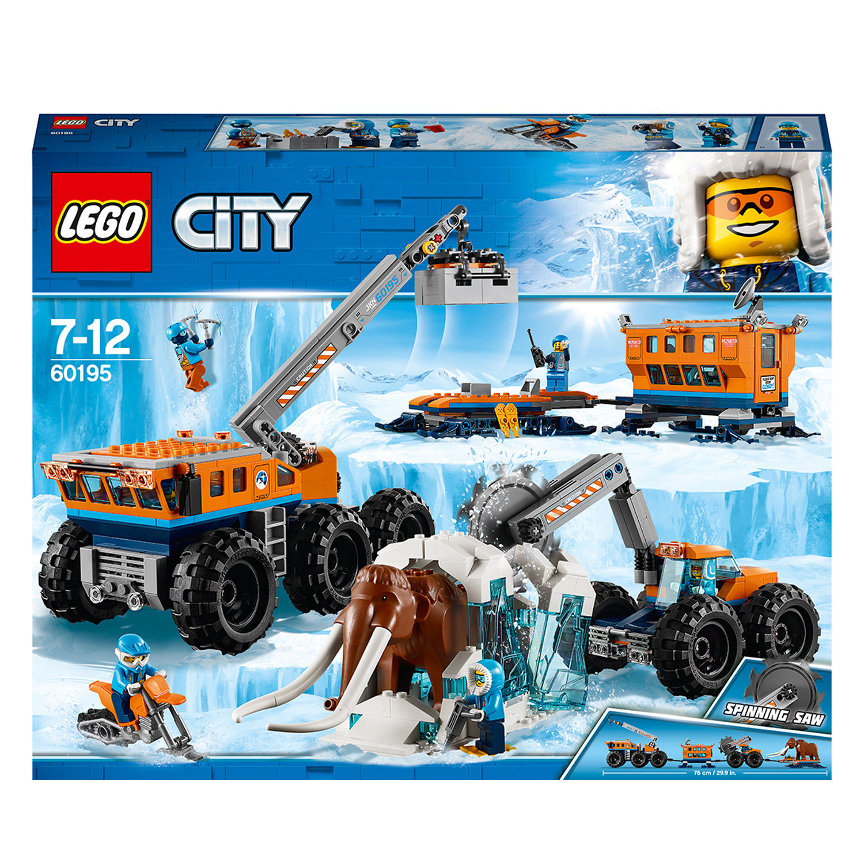 Lego City 60195 Base mobile di esplorazione artica