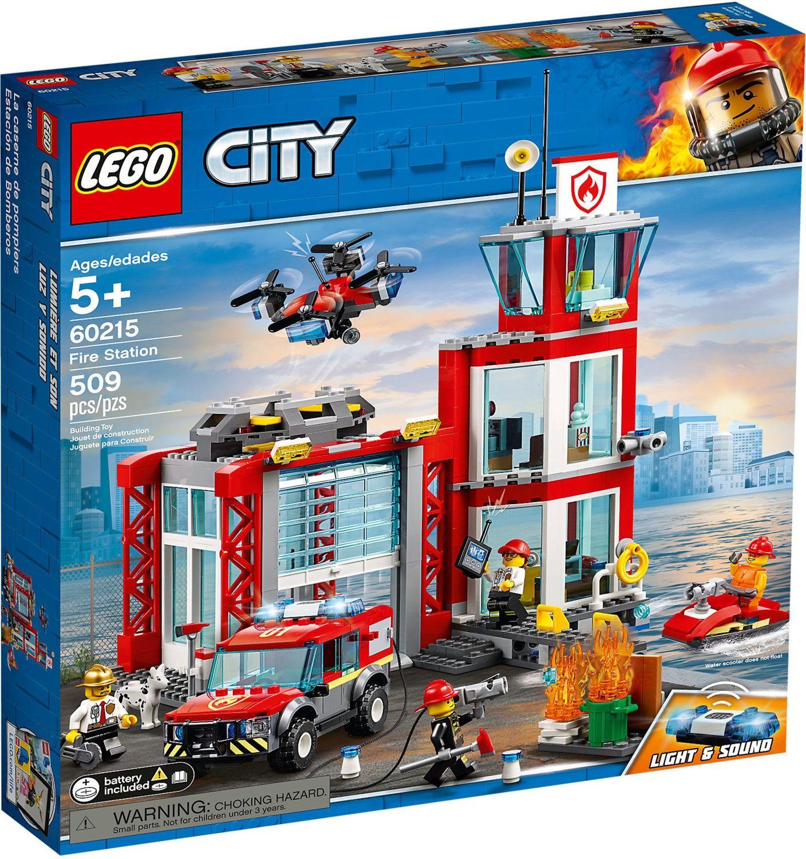 Lego City 60215 Caserma dei Pompieri