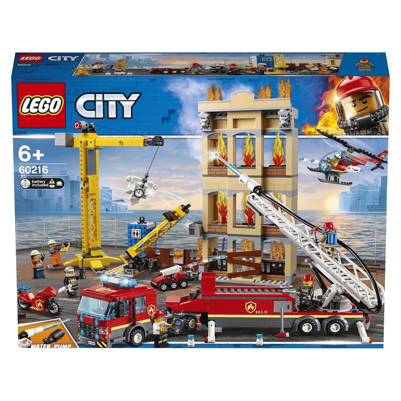 Lego City 60216 Missione antincendio in città