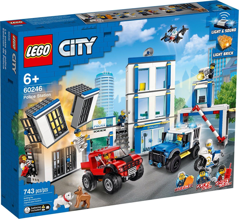 Lego City 60246 Stazione di Polizia