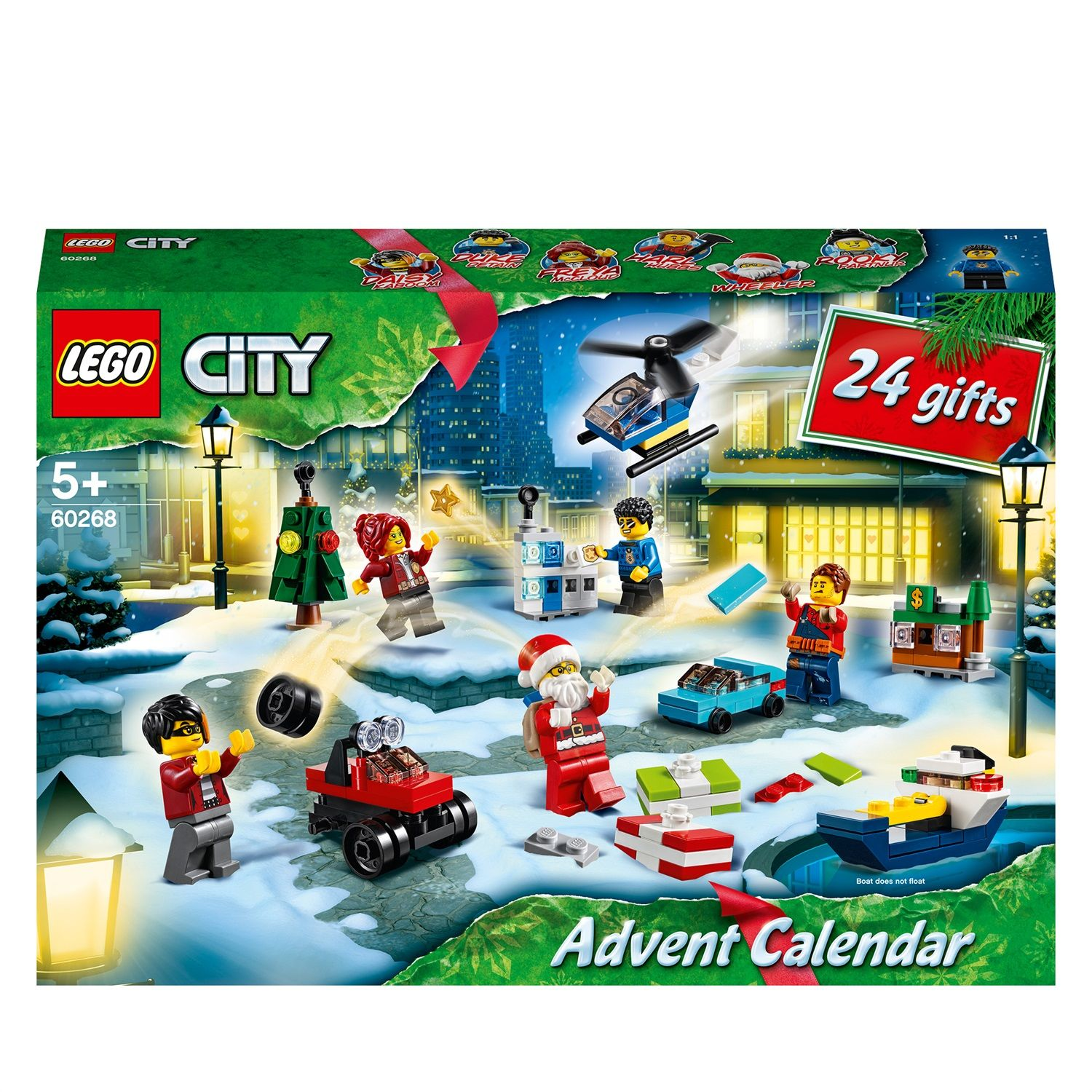 Lego City 60268 Calendario dell'avvento