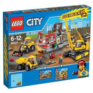 Lego City 66521 Super Pack 3 In 1