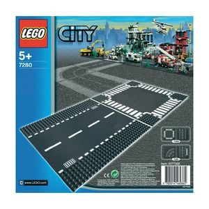 Lego City 7280 Rettilineo e incrocio