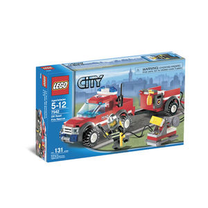 Lego City 7942 Pick-up dei Pompieri