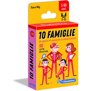 Clementoni 10 Famiglie