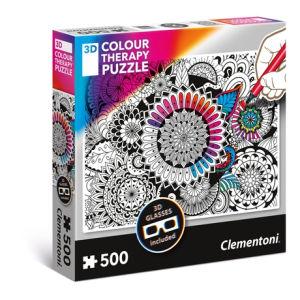 Clementoni 3D Color Therapy Puzzle 500pz