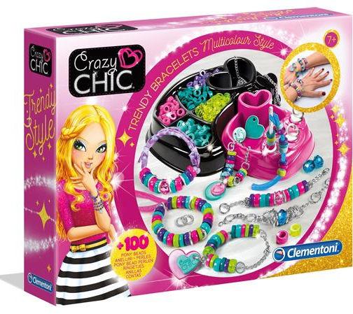 Clementoni Crazy Chic - Bracciali Multicolor