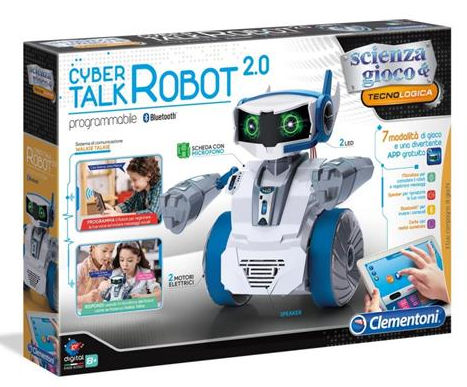 Clementoni Cyber Talk Robot 2.0