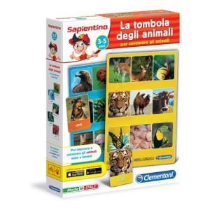 Clementoni Sapientino La Tombola degli Animali