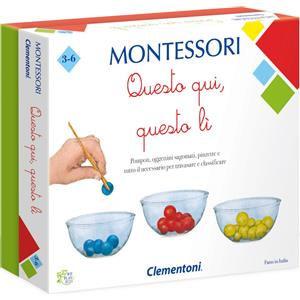 Clementoni Montessori - Questo Qui, Quello lì