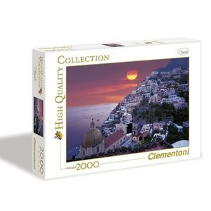 Clementoni Positano High quality collection 2000pz