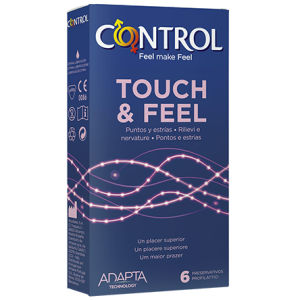 Control touch feel preservativi
