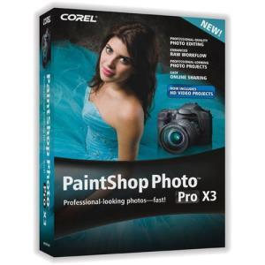 Corel PaintShop Photo Pro X3 Corporate (media only)