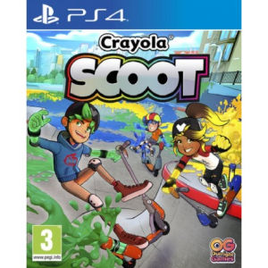 Outright Games Crayola Scoot