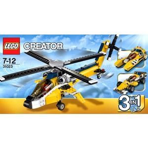 Lego Creator 31023 Yellow Racers
