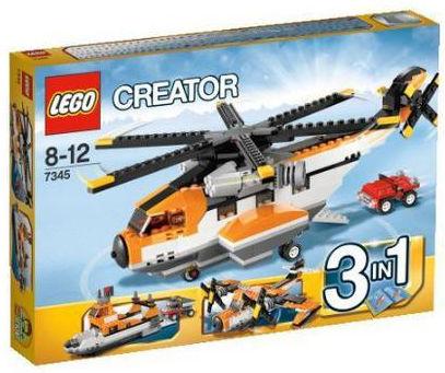 Lego Creator 7345 Elicottero da trasporto