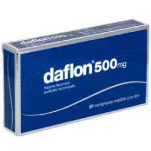 Servier Daflon 500mg 30 compresse rivestite